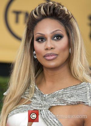 Laverne Cox - 21st Annual SAG (Screen Actors Guild) Awards at Los Angeles Shrine Exposition Center - Arrivals at Los...