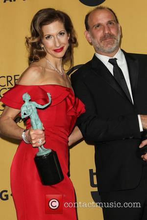 Alysia Reiner and Nick Sandow - A variety of stars were photographed in the press room at the 21st Annual...
