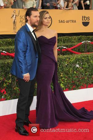Screen Actors Guild, Camila Alves, Matthew Mcconaughey