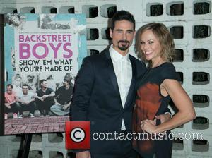 Kevin Richardson and Mandy Richardson - A variety of stars were snapped as they arrived for the Premiere Of Gravitas...