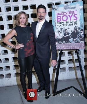 Mandy Richardson and Kevin Richardson - A variety of stars were snapped as they arrived for the Premiere Of Gravitas...