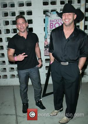Jeff Timmons and Mike 'Money' Foland - A variety of stars were snapped as they arrived for the Premiere Of...