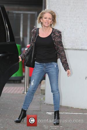 Lucy Benjamin - Lucy Benjamin outside the ITV Studios - London, United Kingdom - Thursday 29th January 2015