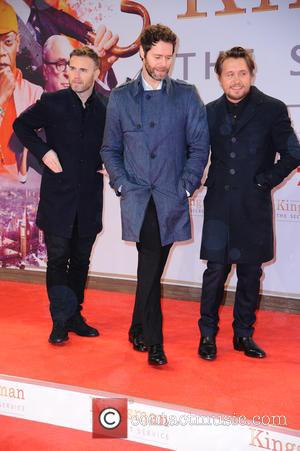 Take That, Gary Barlow, Howard Donald and Mark Owen - Shots of a host of stars as they attend the...