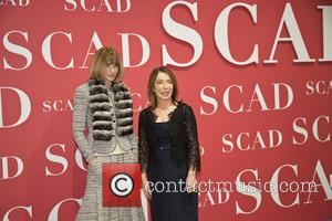 Anna Wintour and Paula Wallace - Vogue editor in chief Anna Wintour and (SCAD) Founder and President Paula Wallace at...