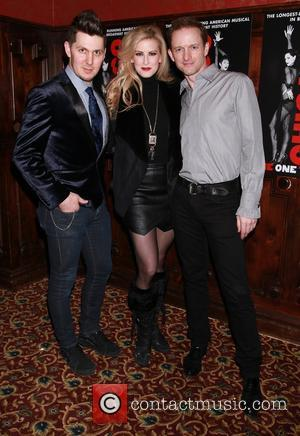 Denny Paschall, Angel Reda and David Bushman - Opening night after party for Jennifer Nettles and Carly Hughes in Broadway...
