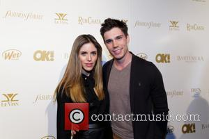 Kayla Ewell and Tanner Novlan - OK! Magazine pre-Grammy party at Lure Nightclub with a performance by Nico & Vinz...