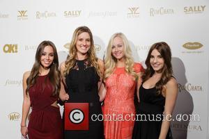 Kelley Weaver, Lexie Elson, Tori Sanchez and Kyrstin Riley - OK! Magazine pre-Grammy party at Lure Nightclub with a performance...