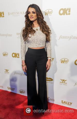 Golnesa Gharachedaghi - Shots of a host of celebrities as they arrived at the OK! Magazine Grammy Pre-Party which saw...