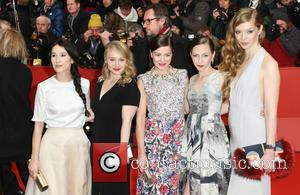 Sibel Kekilli and Katharina Schuettler - A variety of stars from the film industry were snapped on the red carpet...