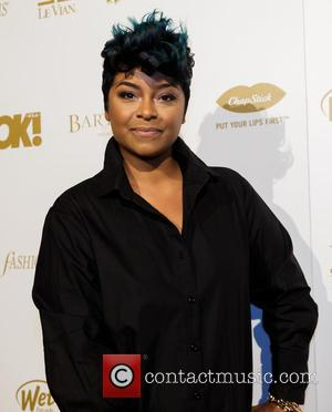 April Daniels - Shots of a host of celebrities as they arrived at the OK! Magazine Grammy Pre-Party which saw...