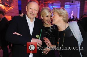 Axel Milberg, Judith Milberg and Monika Gruetters - 65th Berlin International Film Festival (Berlinale) - Blue Hour party by ARD...
