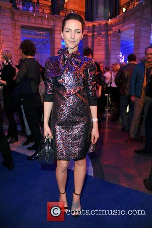 Katharina Schuettler - 65th Berlin International Film Festival (Berlinale) - Blue Hour party by ARD & Degeto at Museum fuer...