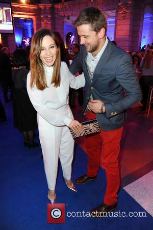 Mina Tander and Steve Windolf - 65th Berlin International Film Festival (Berlinale) - Blue Hour party by ARD & Degeto...