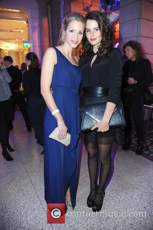 Nina Friederike Gnaedig and Ruby O. Fee - 65th Berlin International Film Festival (Berlinale) - Blue Hour party by ARD...