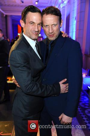 Soenke Moehring and Wotan Wilke Moehring - 65th Berlin International Film Festival (Berlinale) - Blue Hour party by ARD &...