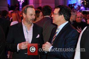 Till Demtroeder and Volker Herres - 65th Berlin International Film Festival (Berlinale) - Blue Hour party by ARD & Degeto...
