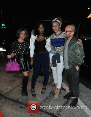 Fifth Harmony, Ally Brooke Hernandez, Normani Kordei and Dinah Jane Hansen - Fifth Harmony attends the L.A. Reid pre-Grammy party...