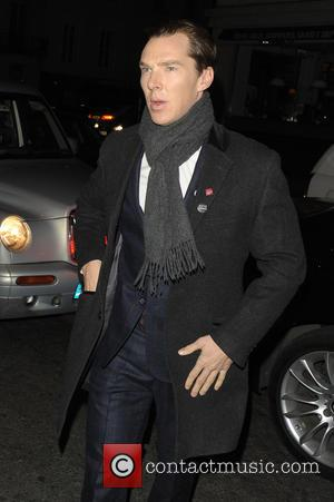 Benedict Cumberbatch - Harvey Weinstein's Pre-BAFTA dinner at Little House, in partnership with Burberry & Grey Goose - London, United...