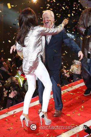Katie Price and Keith Chegwin - Katie Price wins Celebrity Big BrotherCelebrity Big Brother Final 2015 at Celebrity Big Brother...