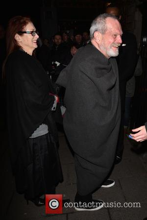 Terry Gilliam and Maggie Weston - Pre-BAFTA dinner at Annabelle's hosted by Charles Finch and Chanel - London, United Kingdom...