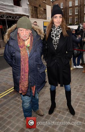 David Bailey and Catherine Bailey - Working Title pre-BAFTA VIP brunch at Chiltern Firehouse at Chiltern Firehouse - London, United...