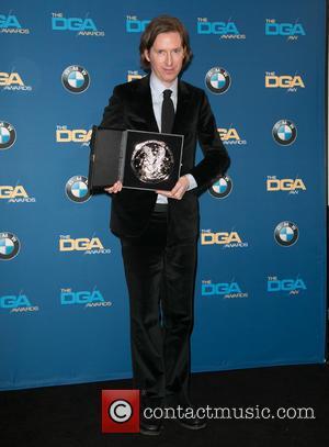 Wes Anderson - Celebrities attend 67th Annual DGA Awards - Press Room at the Hyatt Regency Century Plaza. at Hyatt...