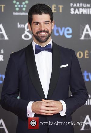 Miguel Angel Munoz - 29th Goya Awards at the Principe Felipe Convention Center - Arrivals - Madrid, Spain - Saturday...