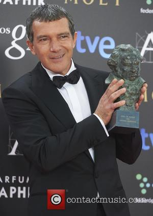 Antonio Banderas - 29th Goya Awards at the Principe Felipe Convention Center - Press Room - Madrid, Spain - Saturday...