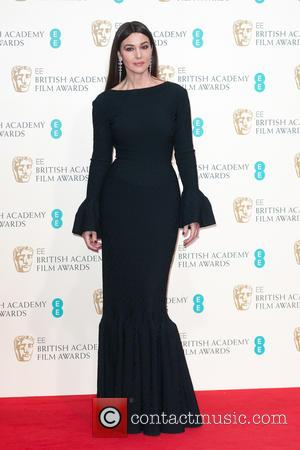 Monica Bellucci - Various stars of film and television were photographed after the EE British Academy of Film and Television...