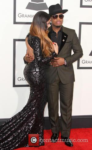 Ne-Yo and Crystal Renay - 57th Annual GRAMMY Awards held at the Staples Center in Los Angeles. at Staples Center,...