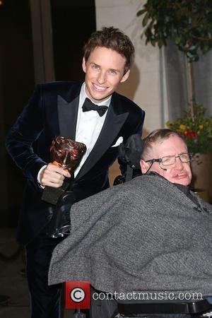 Eddie Redmayne, Stephen Hawking, Grosvenor House, BAFTA