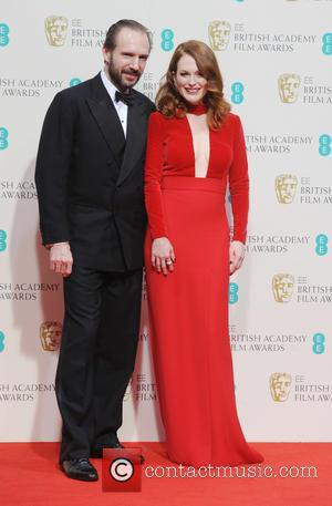 Julianne Moore and Ralph Fiennes - Various stars of film and television were photographed after the EE British Academy of...