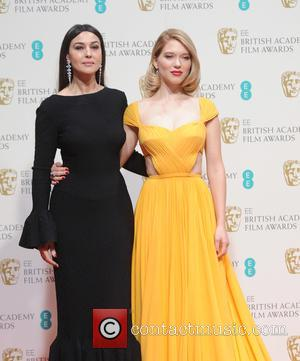 Monica Bellucci and Lea Seydoux - Various stars of film and television were photographed after the EE British Academy of...