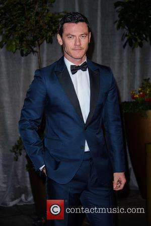 Luke Evans - A variety of stars were photographed at the EE British Academy of Film and Television Awards 2015...