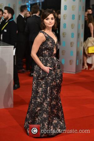 Jenna Coleman - Various stars of film and television were photographed on the red carpet as they arrived for the...