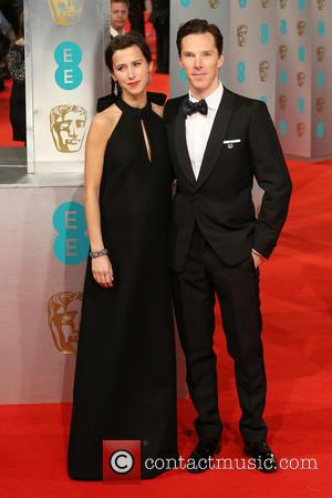 Benedict Cumberbatch and Sophie Hunter - EE British Academy Film Awards held at The Royal Opera House - Arrivals at...