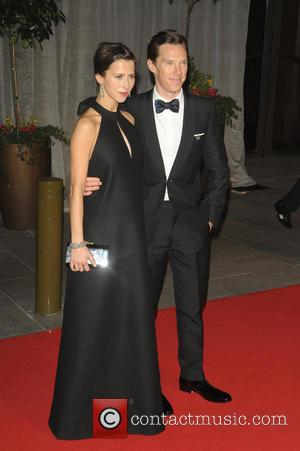 Benedict Cumberbatch and Sophie Hunter - A host of stars were photographed as they attended the EE British Academy of...