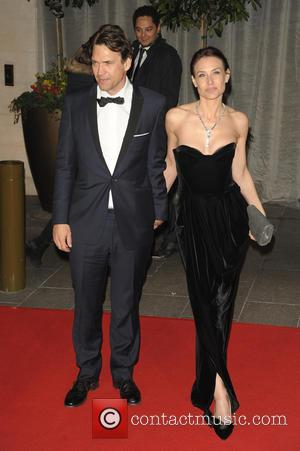Dougray Scott and Claire Forlani - A host of stars were photographed as they attended the EE British Academy of...