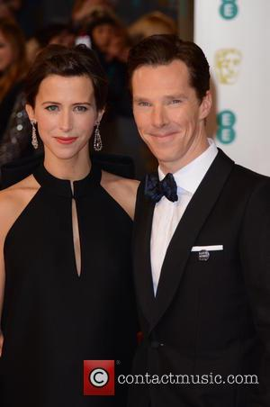Benedict Cumberbatch and partner - Various stars of film and television were photographed on the red carpet as they arrived...
