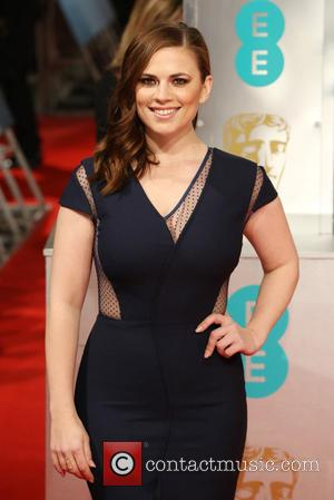 Hayley Atwell - Various stars of film and television were photographed on the red carpet as they arrived for the...