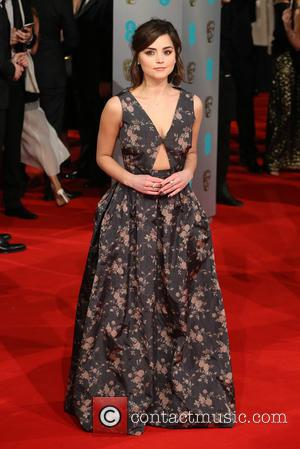 Jenna Coleman and Jenna-Louise Coleman - Various stars of film and television were photographed on the red carpet as they...