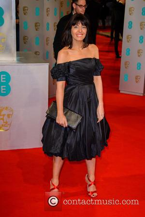 Claudia Winkleman - Various stars of film and television were photographed on the red carpet as they arrived for the...