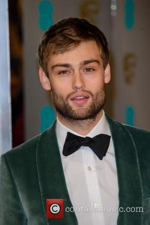 Douglas Booth - Various stars of film and television were photographed on the red carpet as they arrived for the...