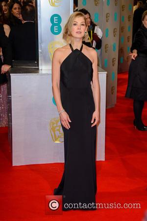 Rosamund Pike - Various stars of film and television were photographed on the red carpet as they arrived for the...