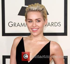 Miley Cyrus - A variety of stars from the music industry all turned out in style to attend the 57th...