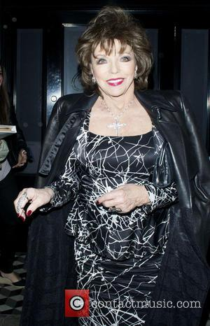 Joan Collins - Joan Collins leaving Craig's in West Hollywood at West Hollywood - Los Angeles, California, United States -...