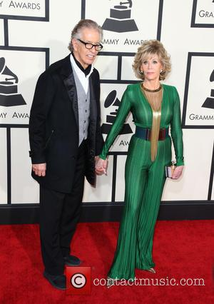 Jane Fonda and Richard Perry - A variety of stars from the music industry all turned out in style to...