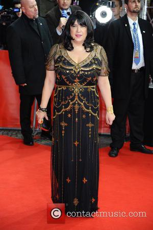 E. L. James - Stars from the upcoming raunchy movie 'Fifty Shades of Grey' were photographed on the red carpet...