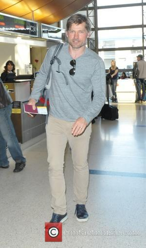 Nikolaj Coster-Waldau - Nikolaj Coster-Waldau at Los Angeles International Airport (LAX) at Lax - Los Angeles, California, United States -...